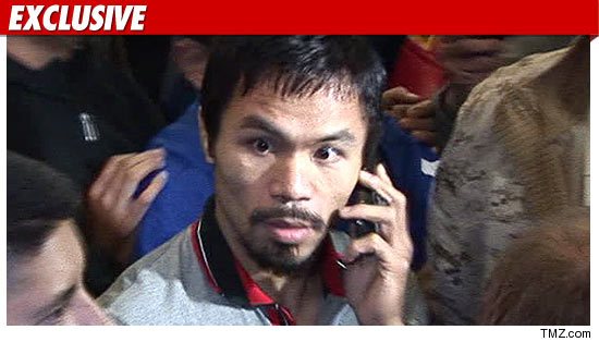 Manny Pacquiao Injury.