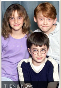Harry Potter Kids: Then & Now!