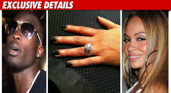 Evelyn Lozada and Chad Ochocinco Engaged