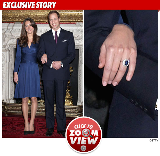 Kate Middleton Pic of Engagement Ring