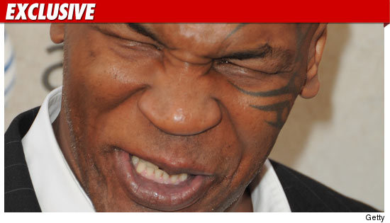 Mike Tyson Hits Photographer