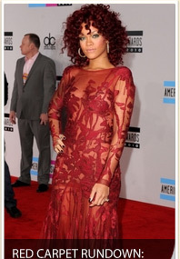 AMAs: The Red Carpet Action!