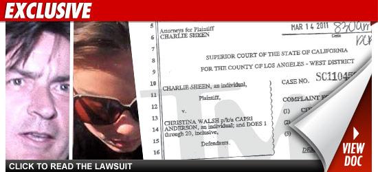 Charlie Sheen Latest Scandal