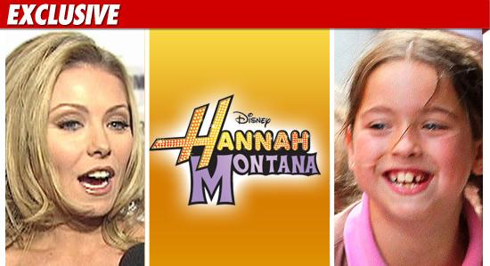 Lola Consuelos on Hannah Montana