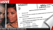Tony Parker Files for Divorce -- Read the Docs