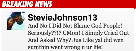 Stevie Johnson Twitter