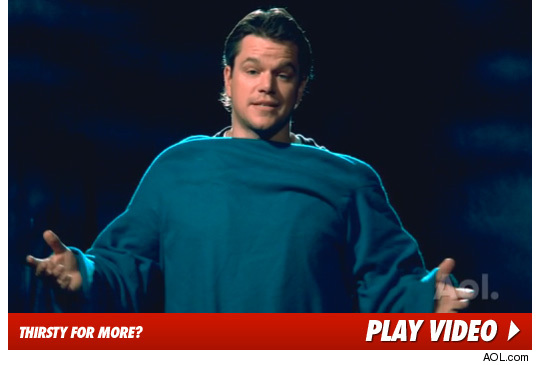 Matt Damon Snuggie