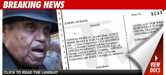 Michael Jackson Wrongful Death Lawsuit