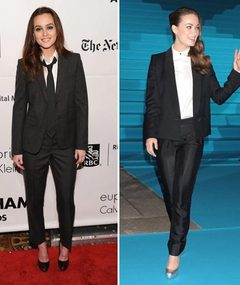Leighton vs. Olivia: Suit Wars!