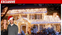 Tom & Gisele -- $7,500 Christmas Light Spectacular