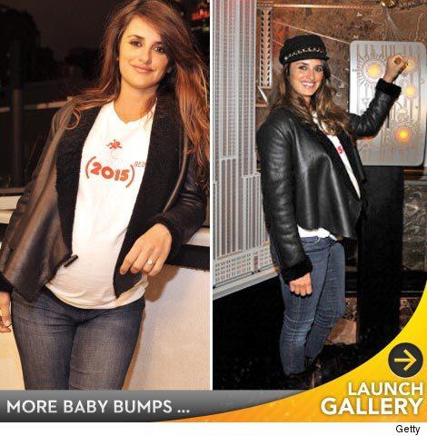 Penelope Cruz Pregnant Photos 2010