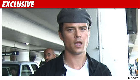 Josh Duhamel Kicked Off Plane