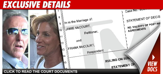 Jamie McCourt Divorce