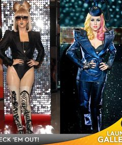 Lady Gaga Waxwork Revealed!