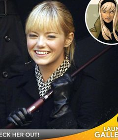 "First Look: Emma Stone as Gwen Stacy in ""Spider-Man!"""