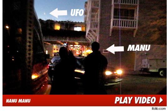 Manu Ginobili UFO