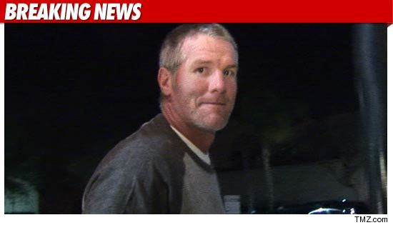 brett favre scandal photos. The NFL has fined Brett Favre