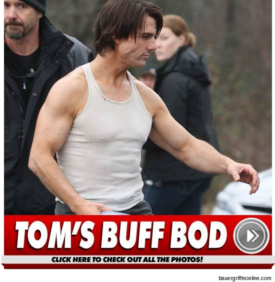 tom cruise young guns cameo. Tom Cruise Packs on the Muscle