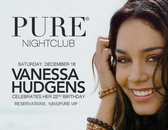 vanessa hudgens birthday party 2010. Vanessa Hudgens 22 Birthday