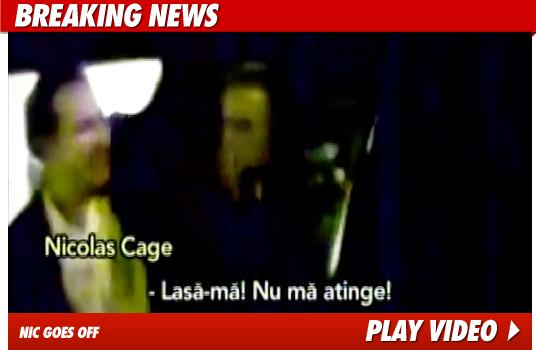 Nicolas Cage Rant