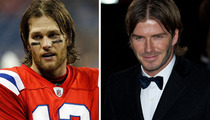 Brady vs. Beckham -- Better Butt Cut?
