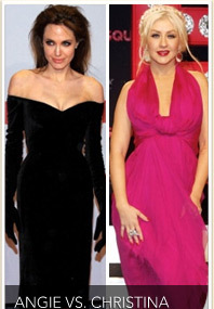 Angelina vs. Christina: World Fashion Wars!