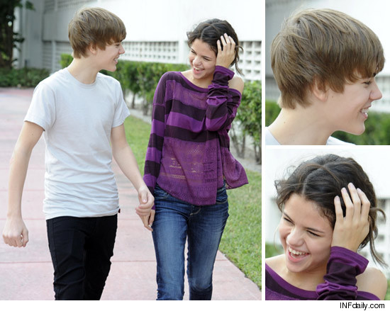 Bieber & Selena Gomez -- The Pancake Date · Selena, Justin, Will and Jaden