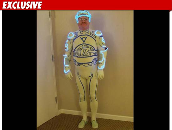 Tron Guy Costume