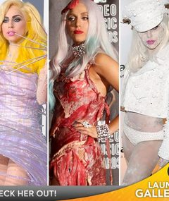 FAB FASHION! Lady Gaga's (Outrageous) Year In Review!