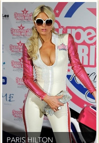 Paris Hilton Vamps Up in Madrid!