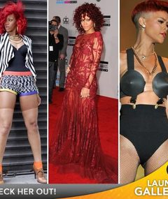 2010's Most Outrageous Fashionistas: Rihanna