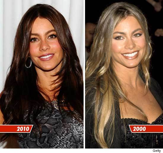 Sofia Vergara Before and After