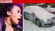 Keyshia Cole's Car -- Imprisoned After DUI