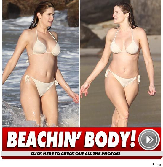 Stephanie Seymour Bikini Photos