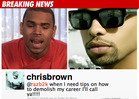 Chris Brown -- Racial, Gay Slurs in Twi