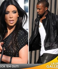 Kim Kardashian in Studio ... with Kanye?!