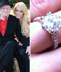 Hugh Hefner & Crystal Harris: Check Out The Engagement Ring!