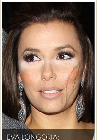 Eva Longoria Steps Out with Kevin Connolly, Bad Makeup!