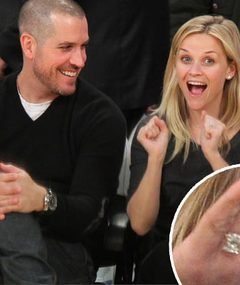 FIRST FOTO: Reese Witherspoon's Engagement Ring!