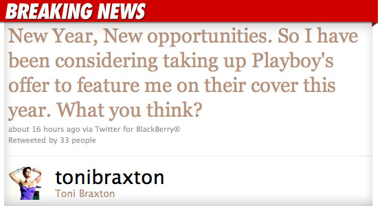Toni Braxton Playboy Pictures