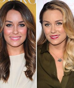 HOT HAIR: Lauren Conrad Goes Brunette!