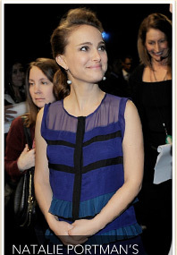 BUMP WATCH: Natalie Portman's Baby Bump Cover Up!