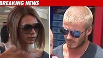 Victoria & David Beckham -- Preggers!