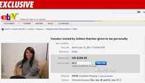 Alleged Ashton Mistress -- The Sweater Sale: Take 2