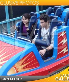 EXCLUSIVE! Nick Jonas' Disney Date with Samantha Barks!