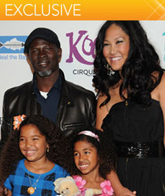 Kimora Lee Simmons: Djimon &amp; I Want More Kids &quot;In The Near Future!&quot;
