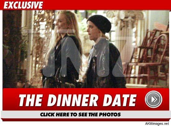 Lindsay Lohan and Sam Ronson