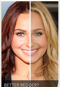 CELEB HAIR WARS! Is Redder Always Better?
