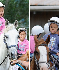 FAB FOTOS: Kate Gosselin Horses Around in New Zealand!