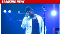 Usher -- Suffering from 'Upper Respiratory Illness'